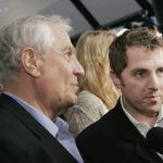 Garry Marshall with his son, Scott Marshall