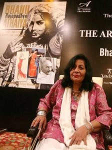 Bhanu Athaiya on her book 'TheArt of Costume Design' Launch