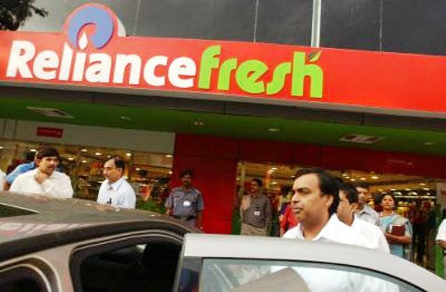 A Reliance Fresh Outlet
