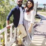 Ajay Manthena with his wife Richa Gautam
