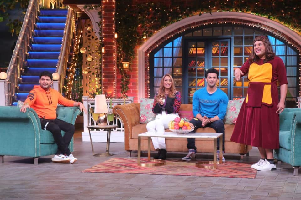 Rishaab Chauhaan in the Kapil Sharma show