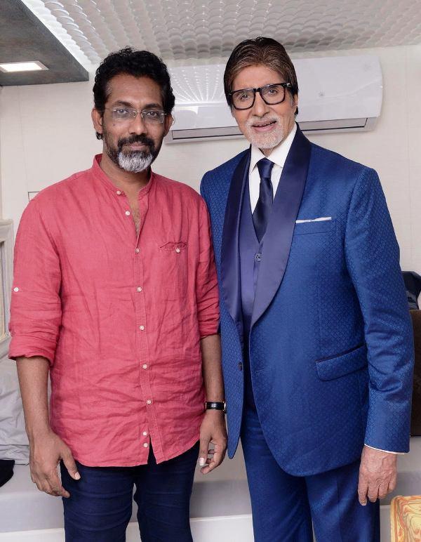 Nagraj Manjule with Amitabh Bachchan