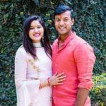 Aashita Sood with her husband Mayank Agarwal