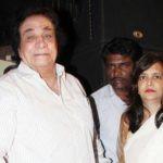 Kader Khan With His Wife Hajra Khan