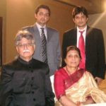 An old picture of Lubna Salim's parents and brothers