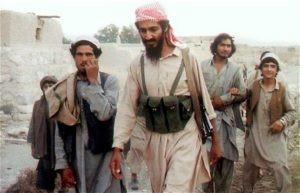 Osama Bin Laden during Soviet Afghan War in 1989