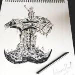 Rohman Shawl's sketch
