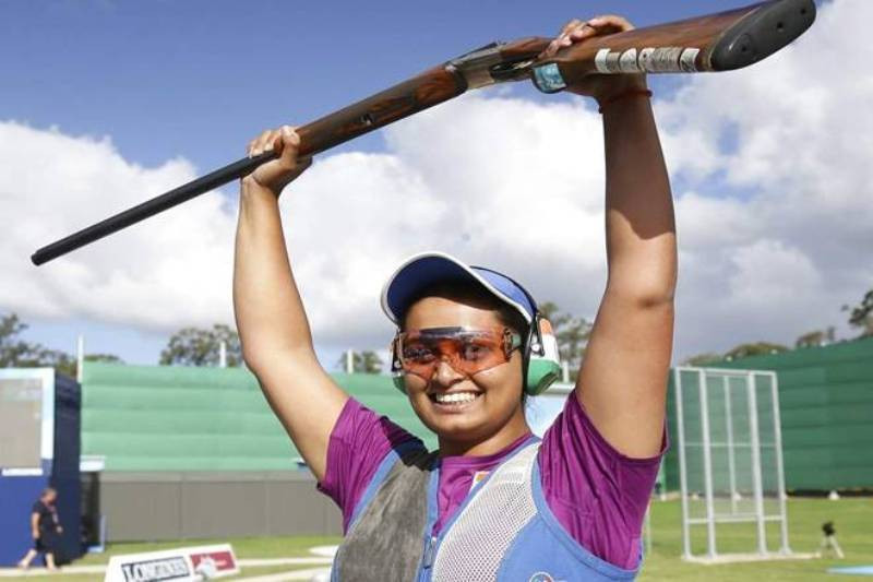 Shreyasi Singh After Winning Gold Medal In the 2018 Commonwealth Games