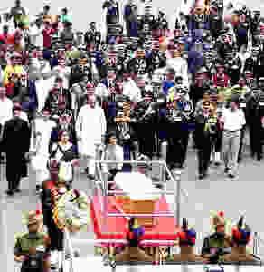 Sam Manekshaw's Funeral Procession