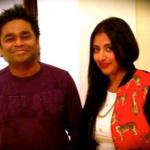 Raja Kumari with A.R Rahman