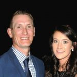 Chris Morris with Lisa Oosthuizen