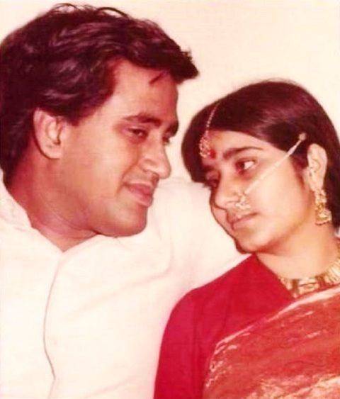 Sushma Swaraj's Wedding Photo