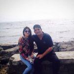 Zaira Wasim with her father