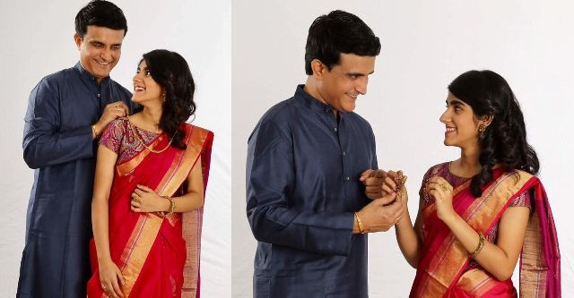 Sana Ganguly's Jewellery advertisement pictures