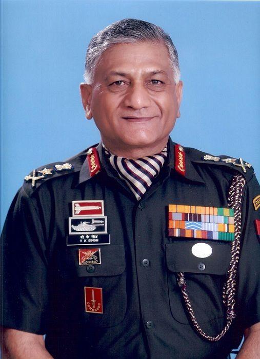 Retired General V.K. Singh