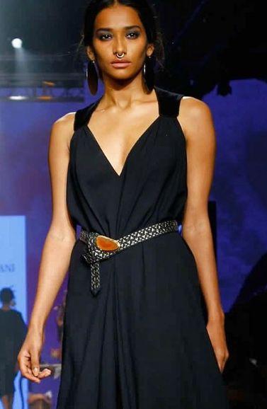 Nidhi Sunil during modelling