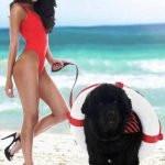 Jasmin Walia - a dog lover
