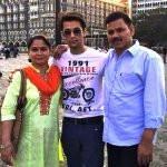 Sumit Bharadwaj Parents