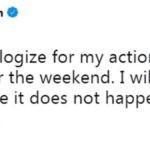 Alex Morgan Apology Tweet