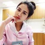 Carina Linn as a Nurse