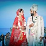 Nikhil Jain with his wife Nusrat jahan On Their Wedding