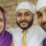 Joti Dhillon mother and brother