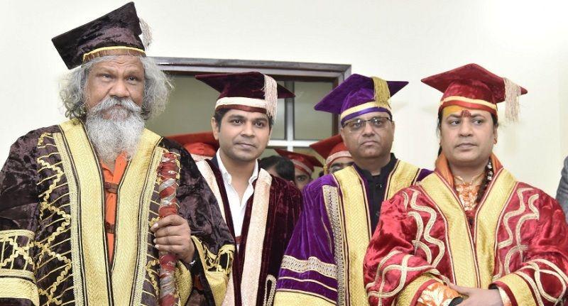 Ankit Tiwari Awarded with Doctorate Degree