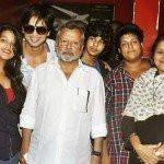 Pankaj Kapur with his family