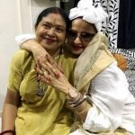 Dhanalakshmi Sapru with Rekha