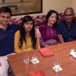 Udit Raj With Wife Seema Raj and son Abhiraj and daughter Saveri.