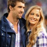 Michael Phelps with his Ex-girlfriend Megan Rossee