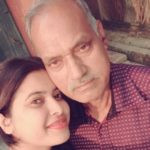 Rose Laskar with her father