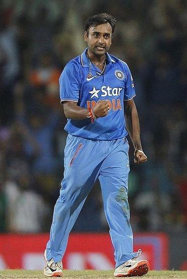Amit Mishra Bowling