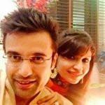 Sandeep Maheshwari with his Wife
