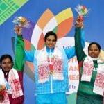Kavita Devi at South Asian Games 2016