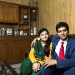 Suhaib Ilyasi with his daughter Aaliya