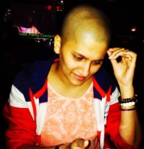 Jyoti Malshe in bald looks