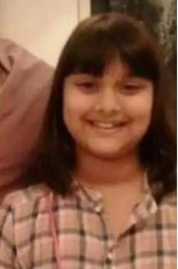 Saiee Manjrekar's childhood picture