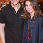 Ajay Bijli with his wife Selena Bijli