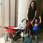 Roshni Chopra with her sons