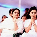 Anil Ambani sisters Nina (right) and Deepti (left)