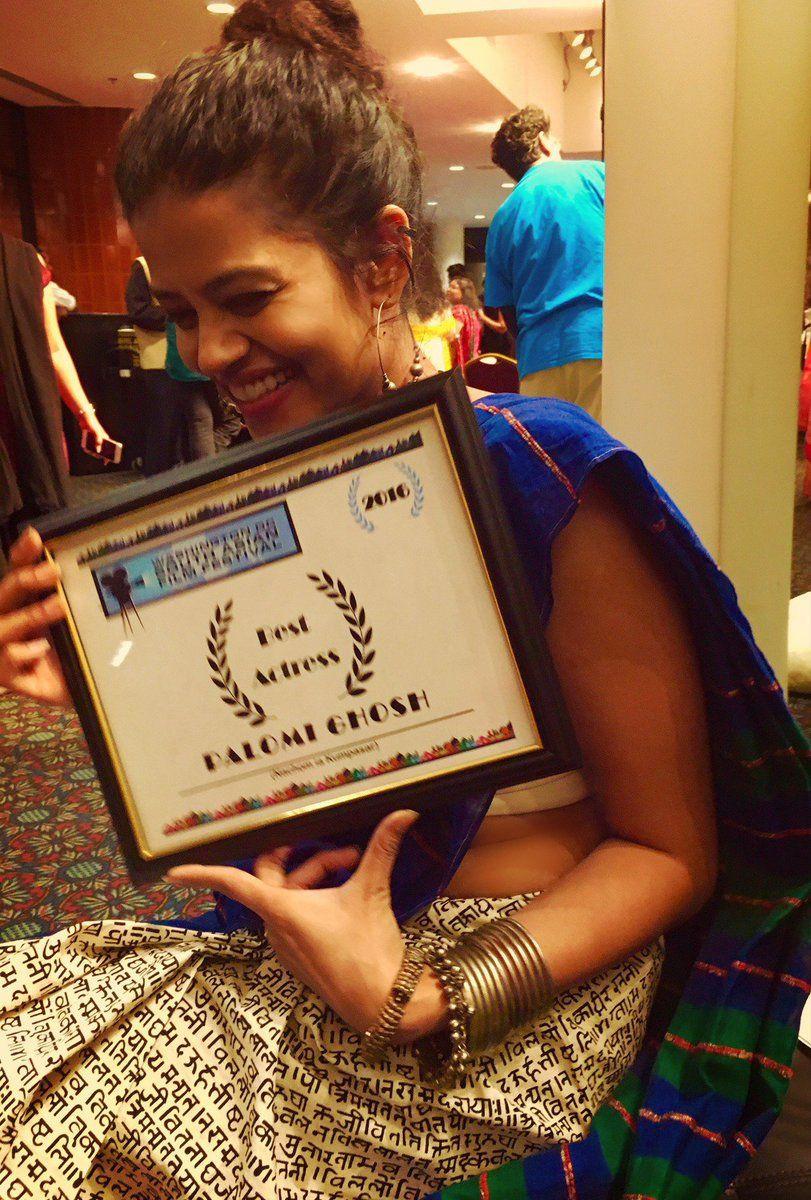 Palomi Ghosh won the Best Actress Award