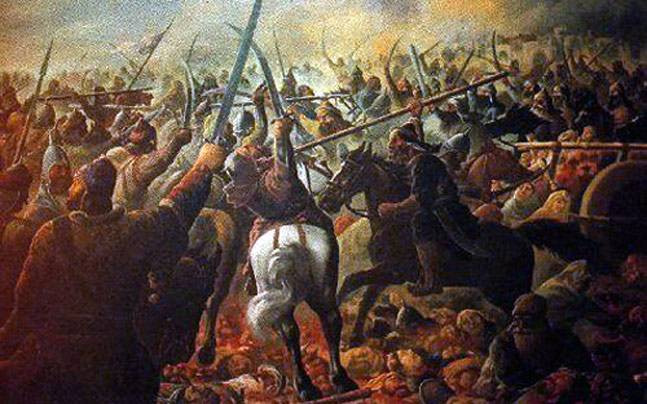 Portrait of the Third Battle of Panipat