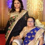 Prarthi M Dholakia with her Mother