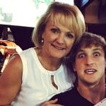 Logan Paul with his mother