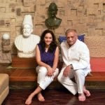 Meghna Gulzar With Her Father Gulzar