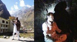 Rajinikanth in Himalayas