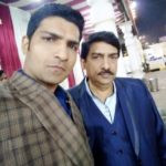 Jatin Sarna With His Father