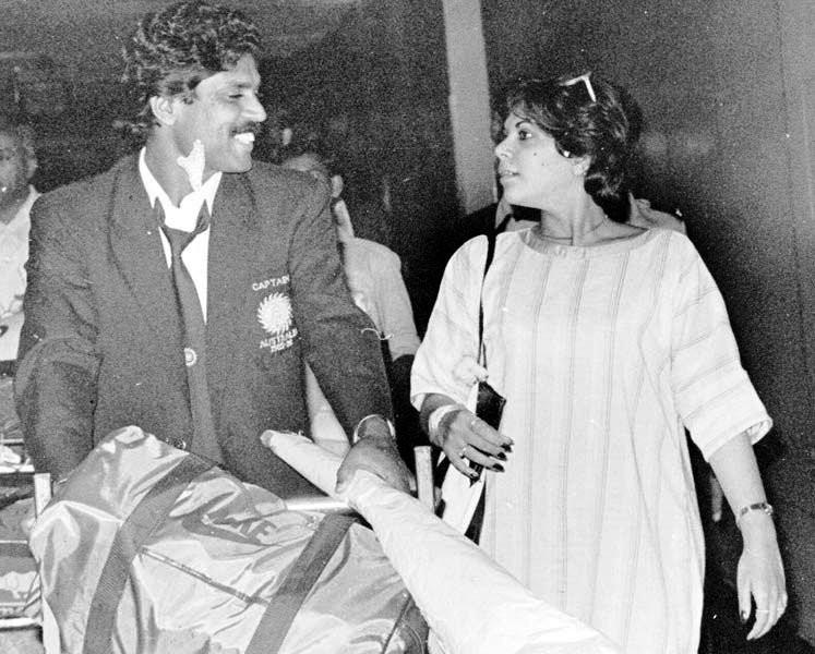 Kapil Dev With Romi Bhatia