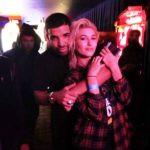 Hailey Baldwin With Her Ex-Boyfriend Drake
